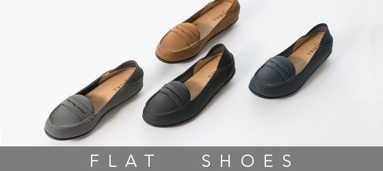 banner small - flat shoes